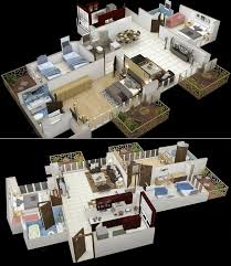 Three Bedroom Design 50 Best 50 Three 3 Bedroom Apartment House Plans Images On
