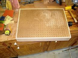 Pegboard For A Downdraft Table Woodworking Talk Woodworkers Forum - Downdraft table design