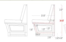 banquettes standard dimensions designer reference pinterest