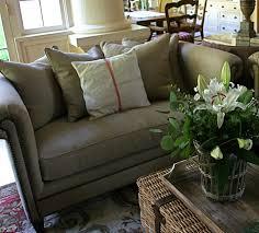 vignette design the family room reveal new sofa and loveseat
