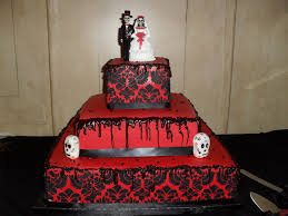 cakes for halloween red and black skull wedding cake for gabby pinterest skull