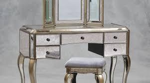 Glass Vanity Table With Mirror Mirror Vintage Makeup Vanities Wonderful Art Deco Mirrored