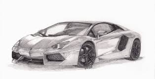car lamborghini drawing drawn lamborghini lamborghini aventador pencil and in color
