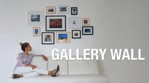 diy photo wall gallery wall superholly youtube