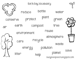 earth day fun busy bee speech