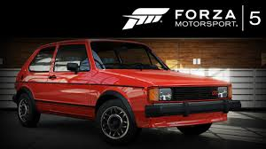 old volkswagen rabbit forza 5 volkswagen rabbit gti 1984 forzavista 1 lap youtube
