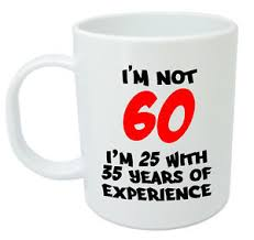 gift ideas 60 year woman i m not 60 mug 60th birthday gifts presents for men women