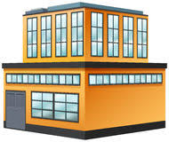 two storey building yellow two storey building stock photo image of somogyvamos