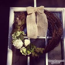 spring wreaths how to dress up your door apartmentguide com