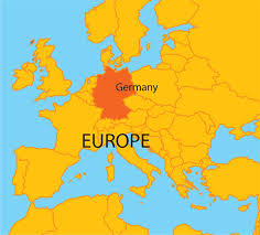germany map for major tourist attractions maps