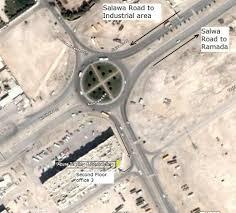 Doha Qatar Map Qatar Road Map Building Traveling