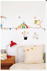 23 best wall stickers images on pinterest baby room nursery and circus