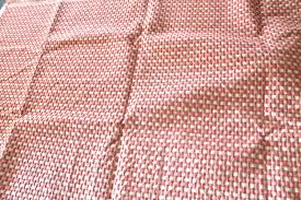 pink and off white ivory textured geometric pattern upholstery