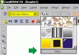 pattern fill coreldraw x6 custom full color pattern fills graphics unleashed blog