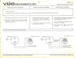 vw alternator wiring diagram aftermarket vdo volt meter