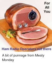 Ham Meme - for all you am ham radio operators out there a bit of punnage from