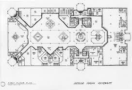 university floor plan a history of george mason university first floor plan university