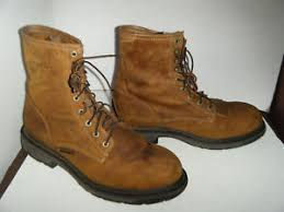ariat s boots size 12 ariat work steel toe workhog boots size 12 d mens ebay