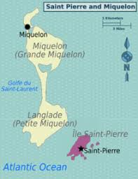 map of st and miquelon and miquelon travel guide at wikivoyage