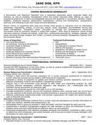 Human Resources Executive Resume  Airline Industry    hr resume examples My Document Blog