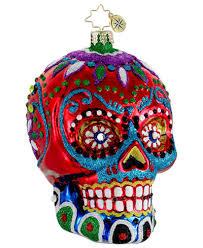 christopher radko la calavera day of the dead ornament