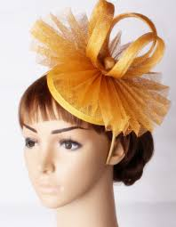 fascinators hair accessories party gold fascinators wedding hat hair accessories