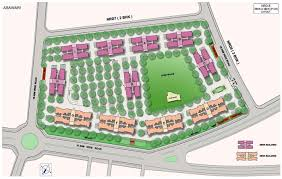 Emirates Stadium Floor Plan 1353 Sq Ft 3 Bhk 3t Apartment For Sale In Nanded City Development