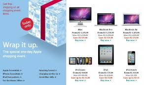 the apple store sale has started in australia