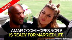 Marriage Caption Lamar Odom Gives Rob Kardashian Marriage Advice Ahead Of Wedding