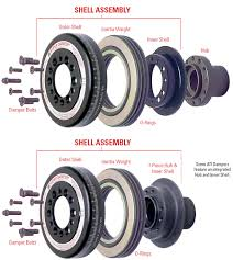 ati super dampers for high performance and racing engines