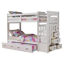 Bunk Bed White Allentown Bunk Bed White Acme Target