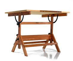 1940s hamilton oak drafting table at 1stdibs