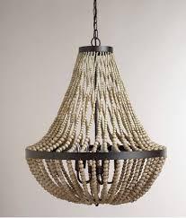 world market pendant light world market large wood bead chandelier 269 via caroline shook