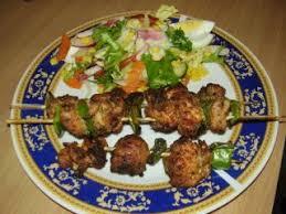 la cuisine pakistanaise brochettes de dindes epicees a la pakistanaise recette ptitchef