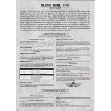 Errata Sheet Template Blood Bowl 2001 Update Sheet Templates Bloodbowl