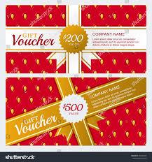Salon Invitation Card Vector Gift Voucher Business Card Template Stock Vector 440680906