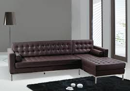 modern brown leather sofa design decor creative at modern brown