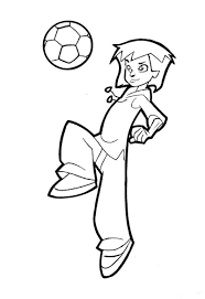 coloriage Foot 2 rue  Page 7  Dididou