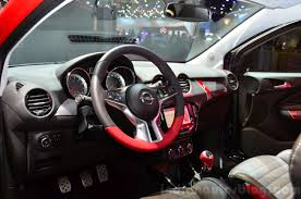 opel paris opel adam s interior at the 2014 paris motor show indian autos blog