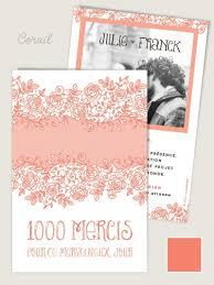 1000mercis mariage cartes de remerciement mariage assorties aux faire part de mariage