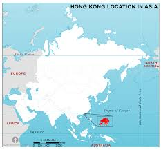 map world asia hong kong location map in asia hong kong location in asia