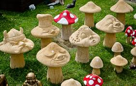 toadstool garden ornaments garden ftempo