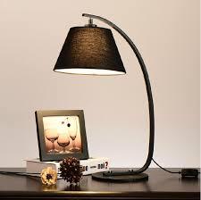 White Art Desk Best Modern Creative Desk Lamps Cloth Art Table Lamp Black White