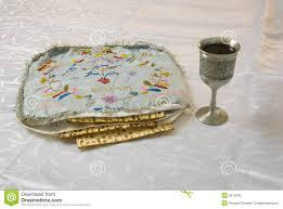 matzah covers matzah cover wine and haggadah stock photo image of