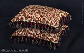 kravet couture brocade old world weavers velvet pillows