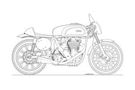 vintage cars drawings photos some classic motorcycle line art drawings asphalt u0026 rubber
