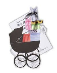 Stevie Streck Invitations Wicker Pram Invitation Prams Shower Invitations And Invitations