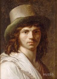 Delacroix Meme - autoportrait de girodet by girodet anne louis art print wall art