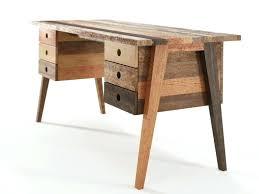 grand bureau en bois bureau metal et bois bureau industriel mtal et bois de manguier with