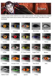 Halloween Costume Contact Lenses 25 Crazy Eyes Images Colored Contacts